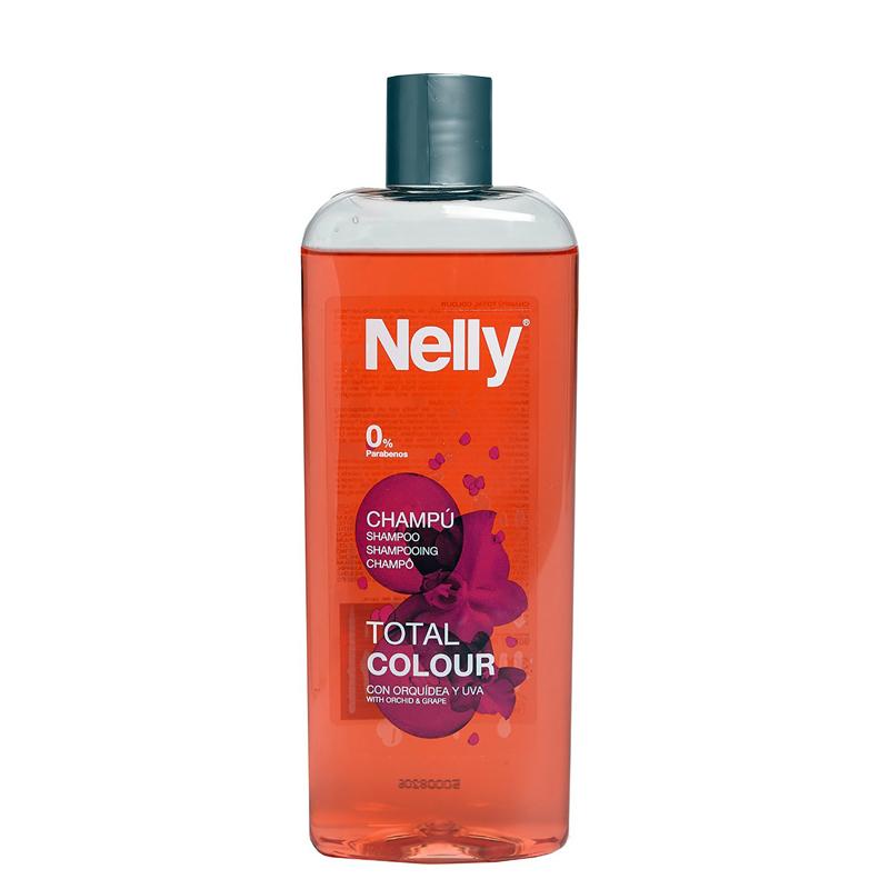 شامپو تثبیت کننده رنگ مو نِلی مدل Total Colour حجم 300 میل