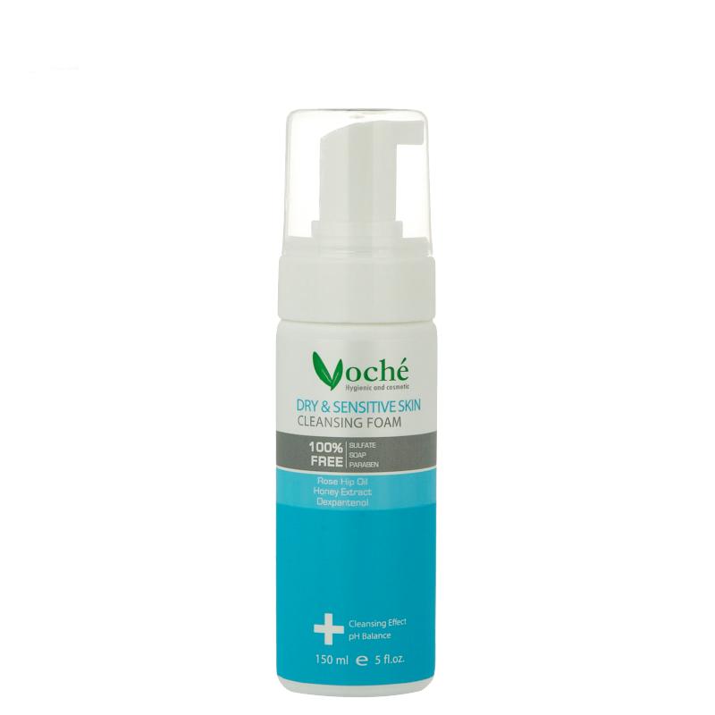 فوم شستشوی صورت وچه مناسب پوست های خشک و حساس حجم 150 میل