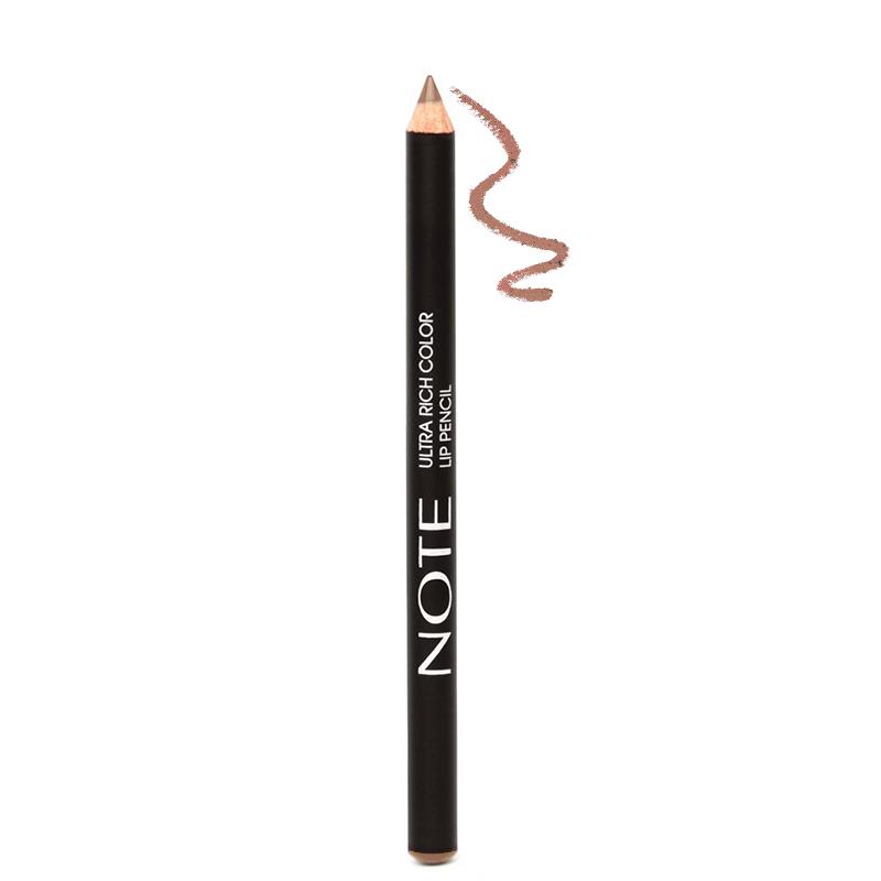 مداد لب مغذی نُت مدل Ultra Rich Color شماره 01 - گندمی