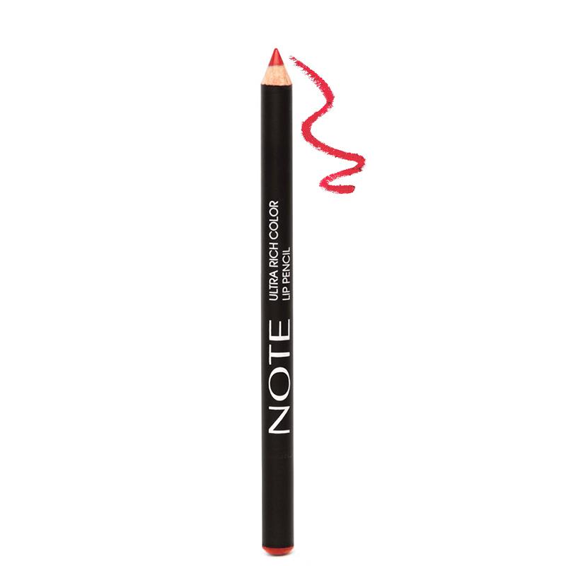 مداد لب مغذی نُت مدل Ultra Rich Color شماره 06 - قرمز