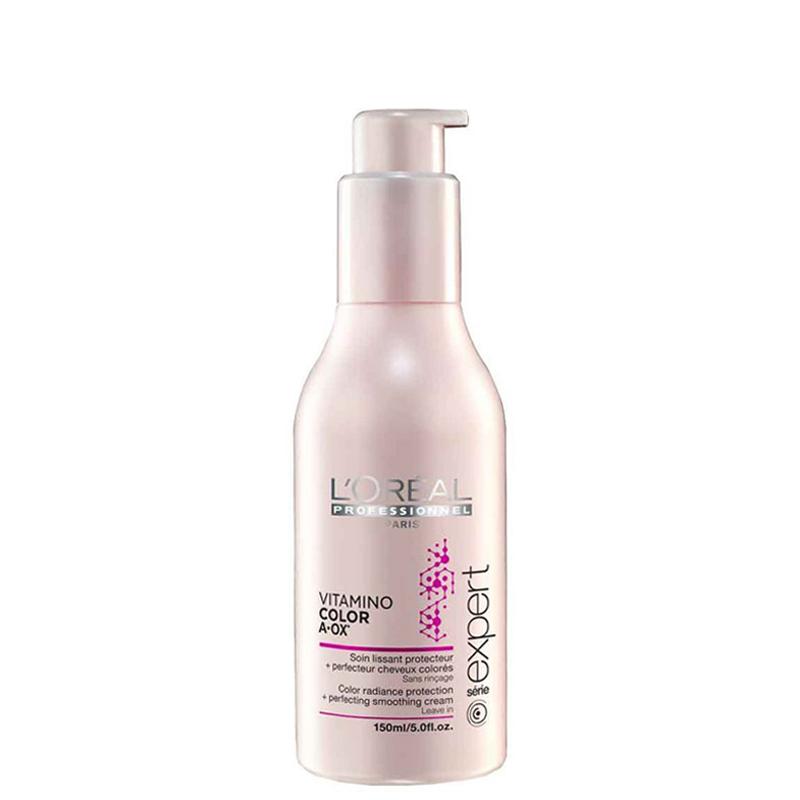 کرم شفاف کننده و حالت دهنده مو رنگ شده لورال پروفشنال مدل Vitamino Color حجم 150 میل