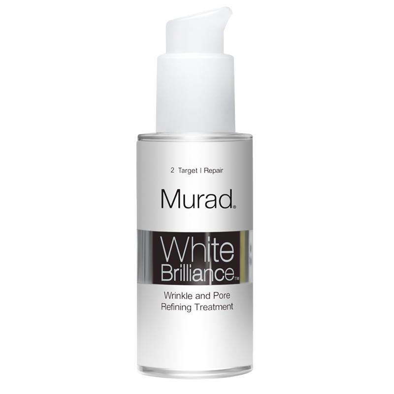 سرم ضد چروک و روشن کننده و کوچک کننده منافذ پوست مورد مدل White Brilliance حجم 30 میل