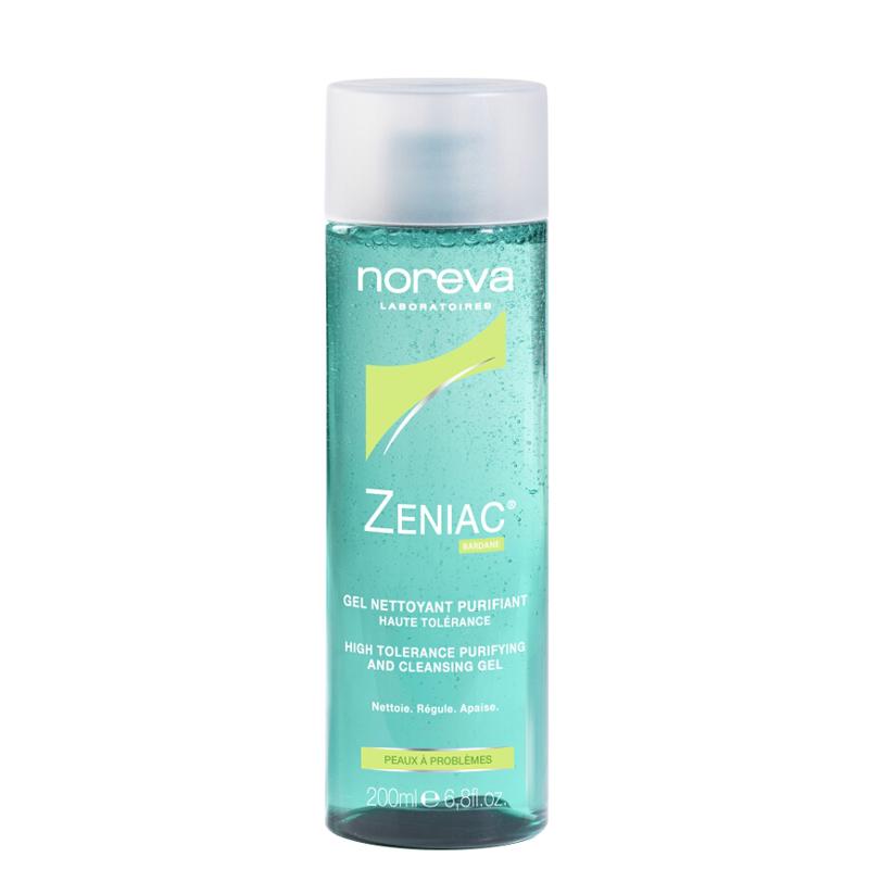 ژل پاک کننده پوست های چرب و جوش دار نوروا مدل Zeniac حجم 200 ميل